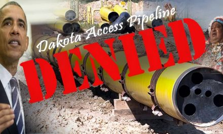 BREAKING: Feds Have Denied Dakota Access Pipeline's Permit To Continue Construction