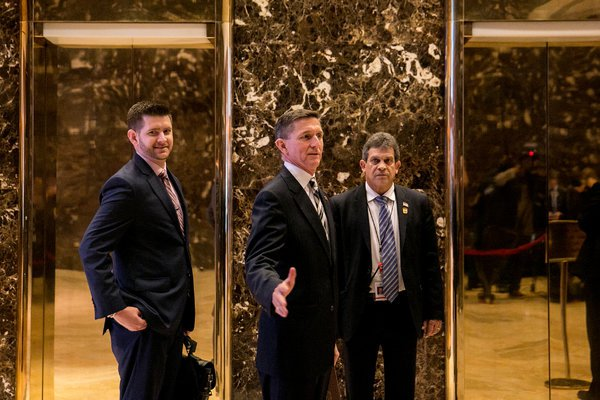 Trump Fires General Flynn's Son From Transition Team for Tweeting PizzaGate
