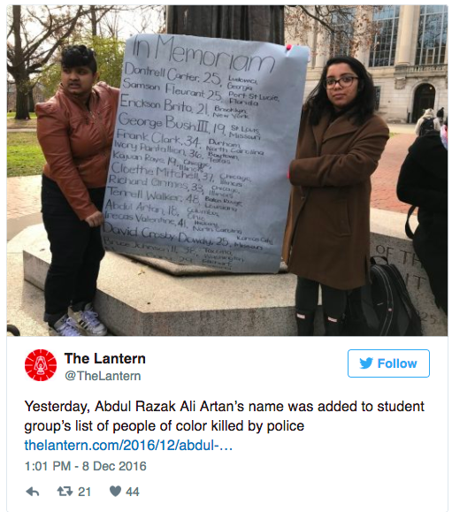 DERANGED: Ohio State Terrorist Memorialized – On Ohio State Campus