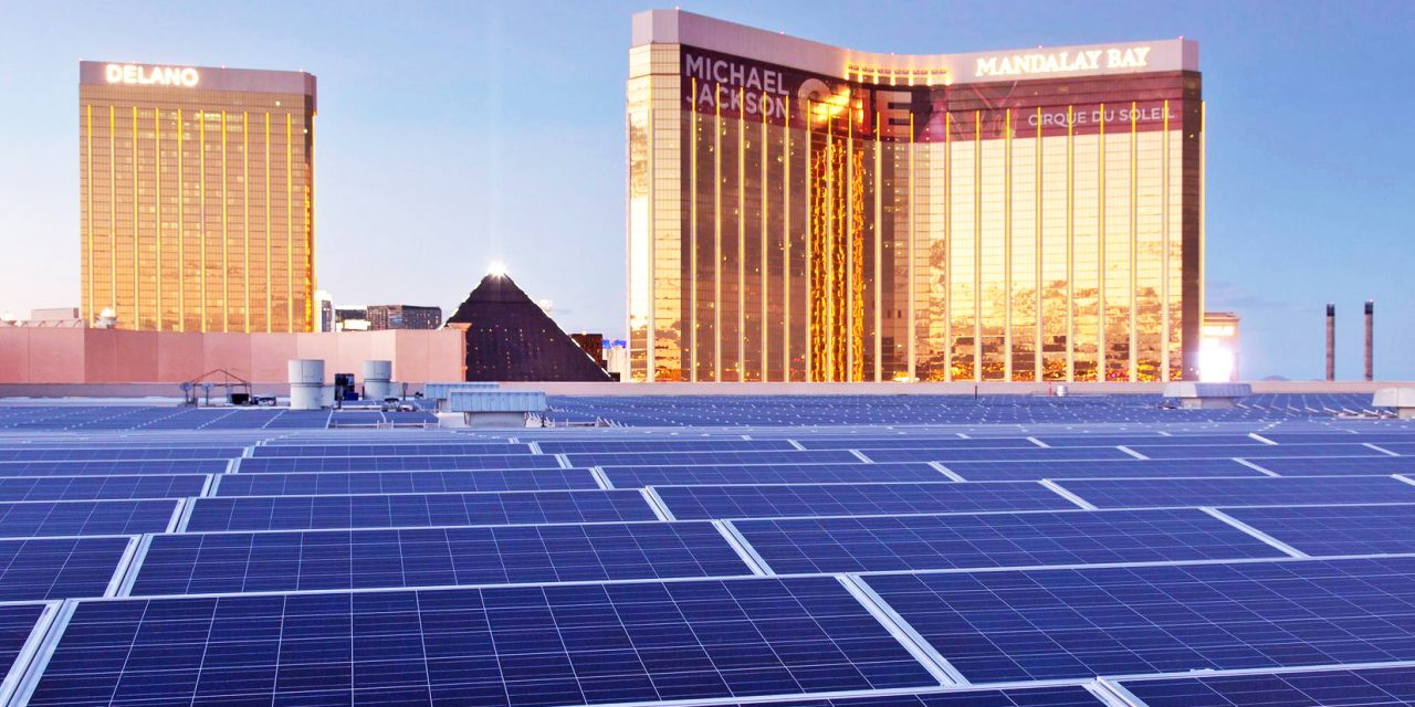 Las Vegas Now Powered Entirely by Renewable Energy
