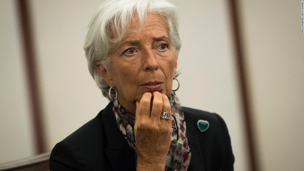 IMF Head Christine Lagarde Found Guilty In France Of Negligence
