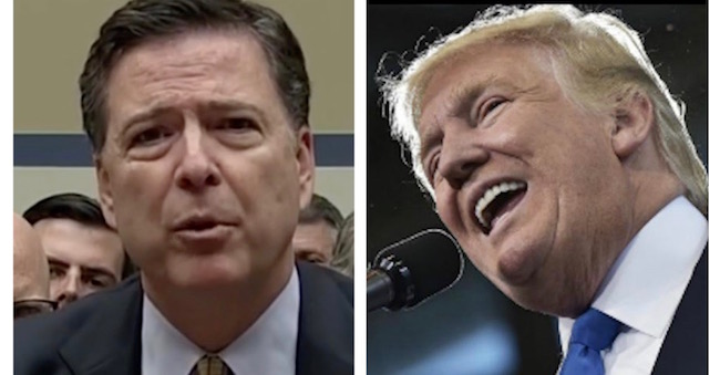 FBI Director Comey To Trump: No Evidence The Russians Influenced the Election