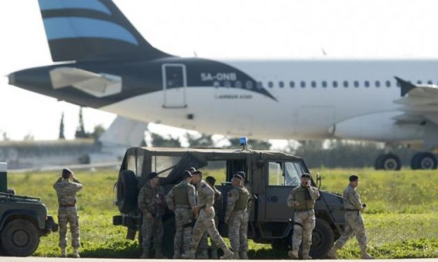 Hijacked Libyan Flight Lands in Malta With 118 on Board