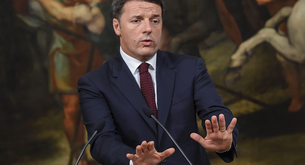 Italy's Renzi announces resignation after referendum defeat