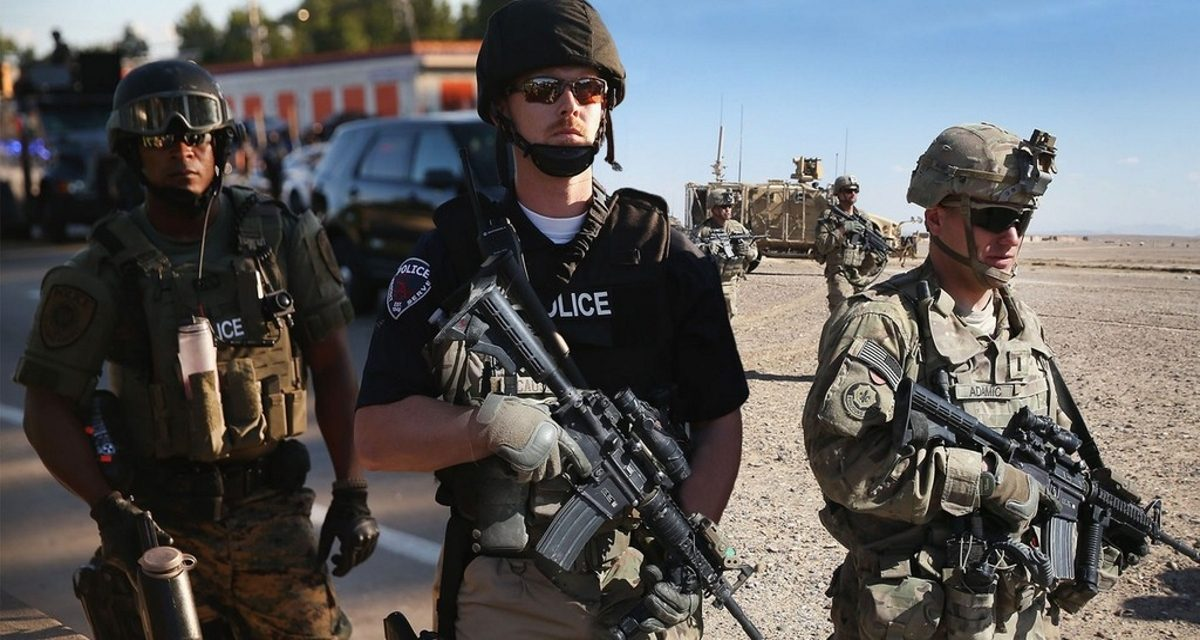 Police Officials Expect Trump To Abolish limits On Surplus Military Gear