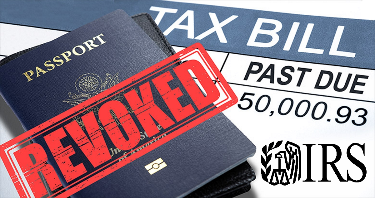The IRS can now revoke your passport if you owe back taxes