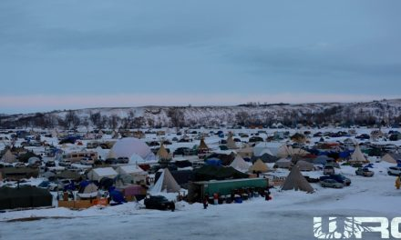 Thousands Arrive At Standing Rock To Defend Water Protectors