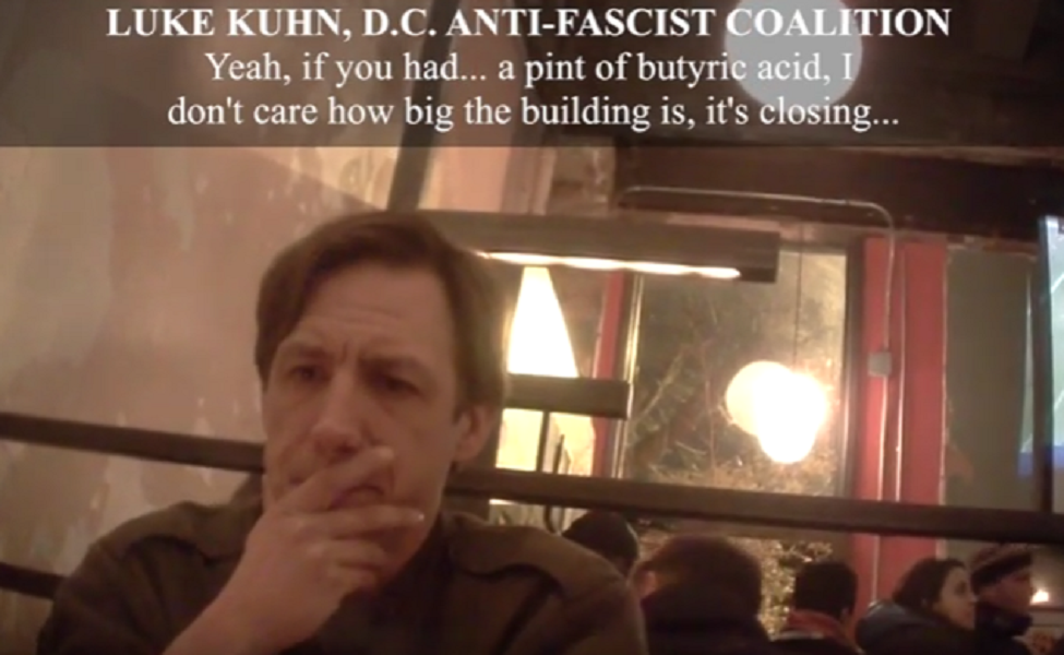 Anti-Trump Goons Plotting to Attack Inaugural DeploraBall With Butyric Acid
