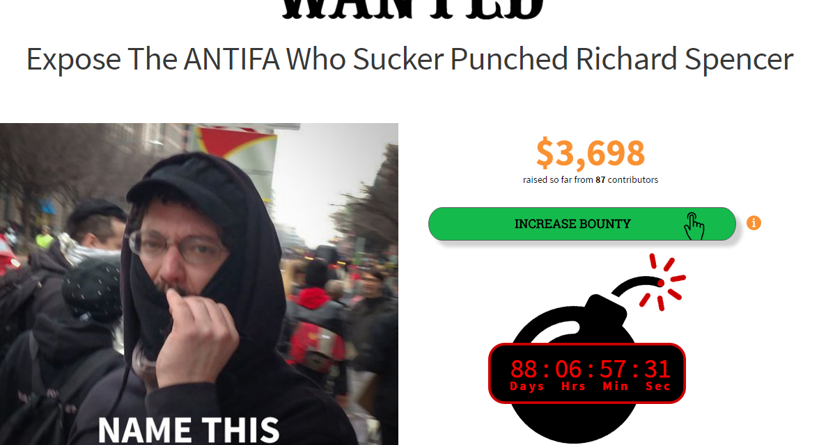 Twitter Suspends WeSearchr For Crowdfunding Reward For Violent Protestor's Identity