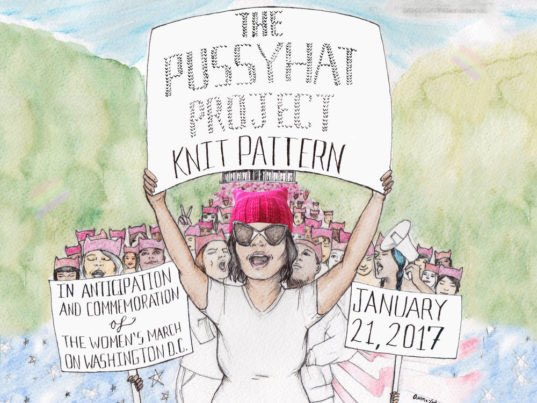 Los Angeles Snowflakes Angrily Knitting 'Pussyhats' to Protest Trump