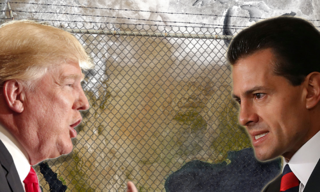NAFTA In Jeopardy: Trump Orders Border Wall Ahead Of Meeting With Mexican President