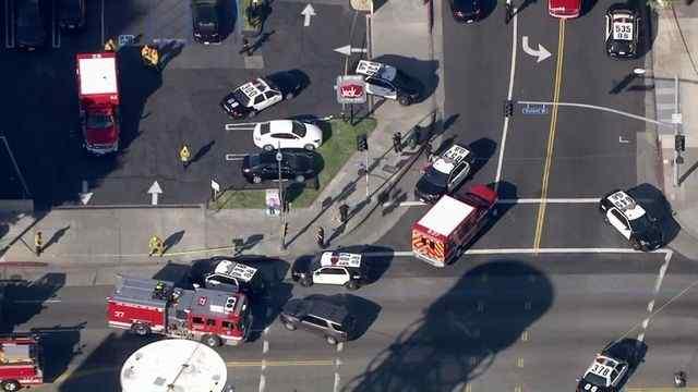 BREAKING: Police Fatally Shoot Knife-Wielding Man After Stabbing Rampage Near CNN Hollywood
