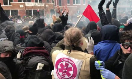 CHAOS: DC Protesters Charge Riot Police, Met With Heavy Pepper Spray