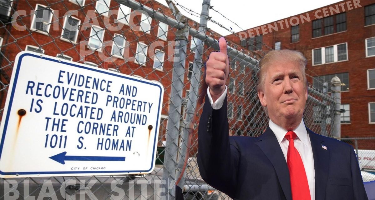Trump's Support For Torture Raises Questions About Future of Chicago's 'Black Site' Prison