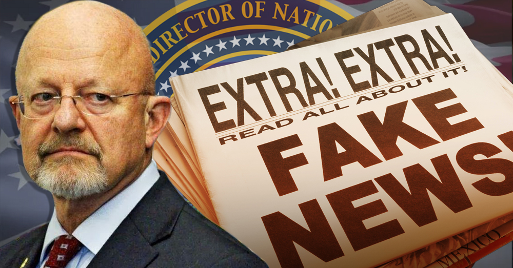National Intelligence Director Admits U.S. Government Fell For 'Fake News'