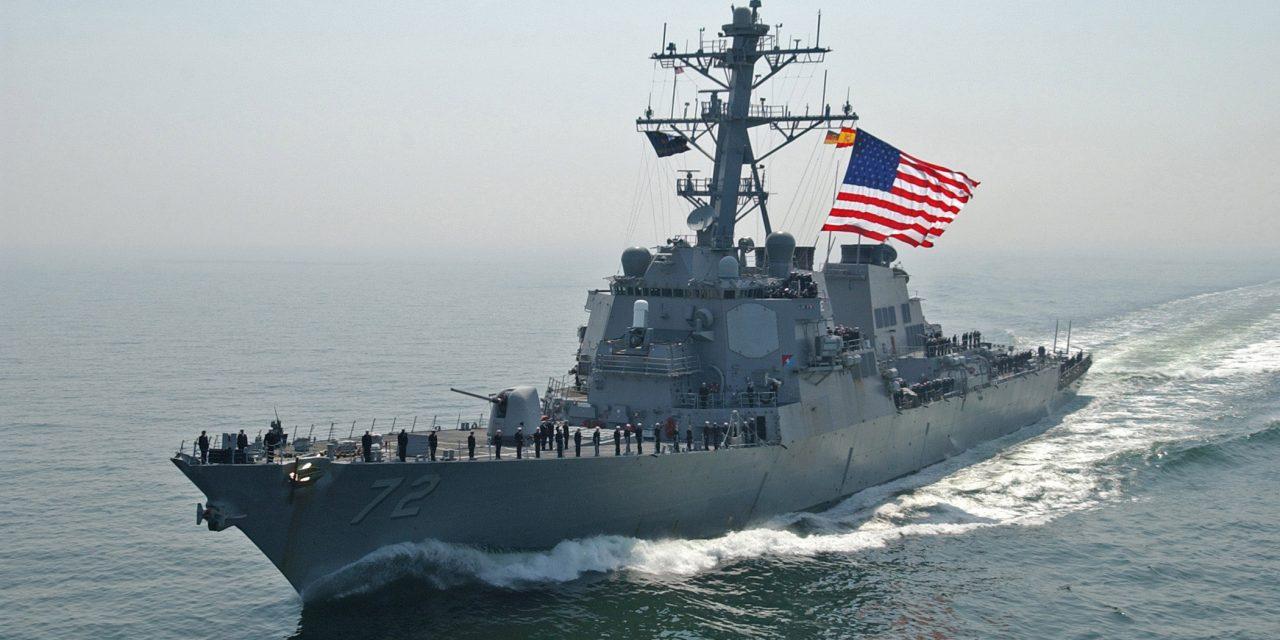 U.S. Navy Destroyer Fires Warning Shots At Iranian Patrol Ships