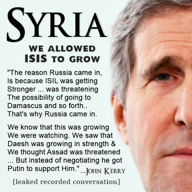 Why ISIS, Obama and John Kerry Don't Want You To Hear This Leaked Audio
