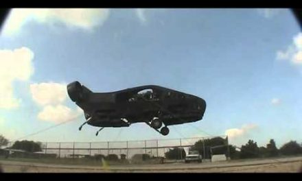 WATCH: Israel Creates A Remote Controlled Flying Car Called The Cormorant