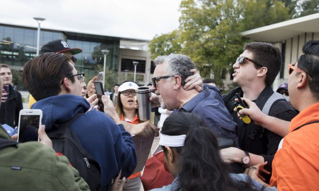 University Professor Violently Assaults Student For Supporting Trump