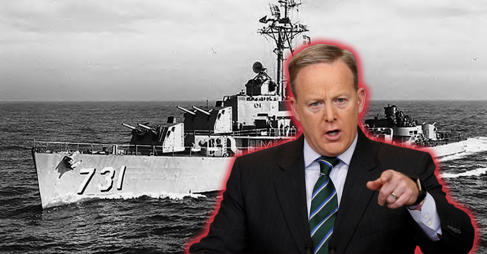 Gulf Of Tonkin 2017? Sean Spicer Falsely Claims Iran Attacked U.S. Ship