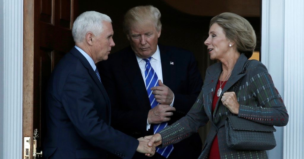HISTORIC: Vice President Breaks Senate Tie to Confirm Betsy DeVos as Education Secretary
