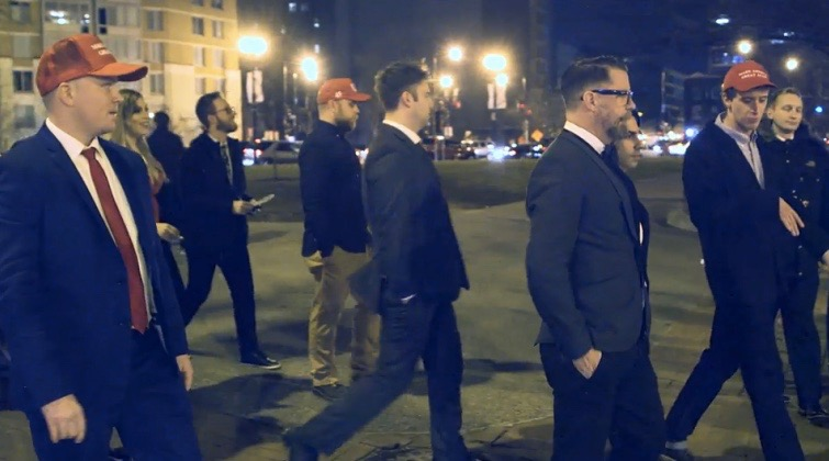 WATCH: Proud Boys vs. Antifa Fight Breaks Out During #GavinAtNYU Event