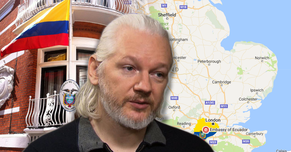 Julian Assange Faces His Fate Two Out Of Three Ecuadorian Presidential Candidates Want To End His Asylum