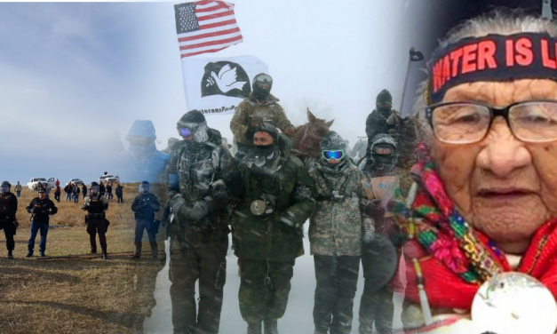 Veterans Return to Standing Rock, Form Human Shield to Protect Native Elders