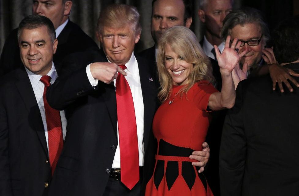 Alternative Facts? Kellyanne Conway Admits She Made Up Terrorist Attack To Justify Travel Ban