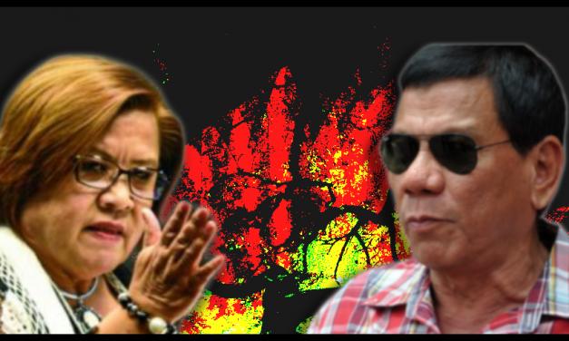 Philippine senator Leila de Lima urges Cabinet to stop 'sociopathic serial killer' Duterte