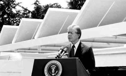 Former President Jimmy Carter Realizes Renewable Energy Is The Future Will Build 1.3 Megawatt Solar Power Station