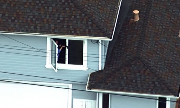 Man Vandalizes Neighborhood With Breasts and a Penis During Standoff With Police (VIDEO)