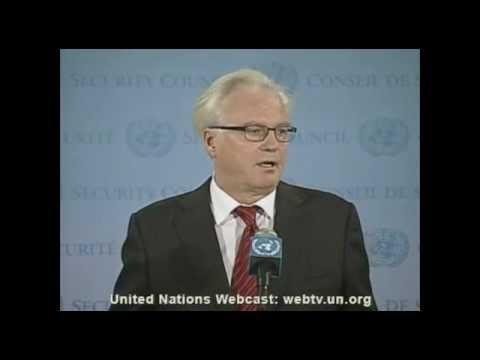 Russian UN Ambassador Vitaly Churkin Died Of A Sudden Heart Attack