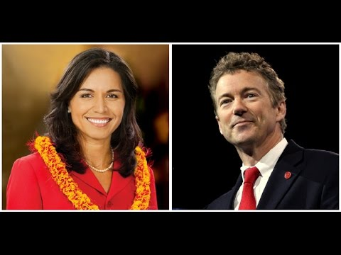 VIDEO: Rand Paul And Tulsi Gabbard Unite For Most Important Act Of 2017