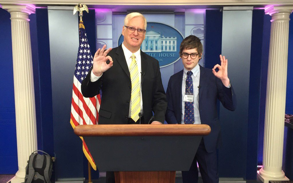 Gateway Pundit Reporter Attacked During White House Press Briefing