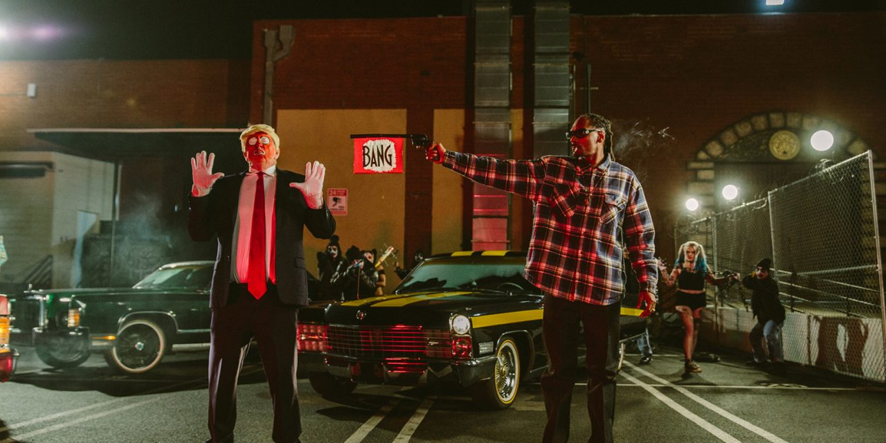 Snoop Dogg Pulls Fake Gun On Trump Parody In New Music Video