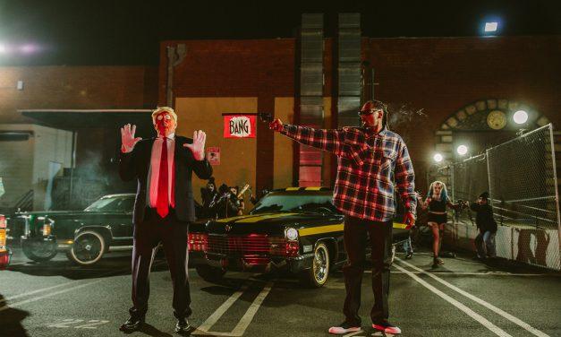 Snoop Dogg Pulls Fake Gun On Trump Parody In New Music Video