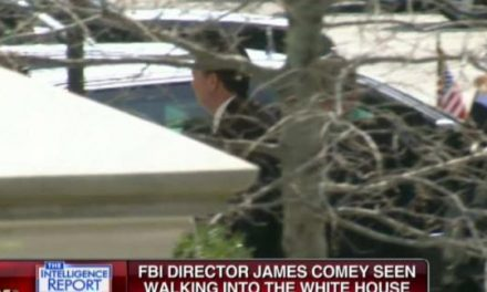 FBI Director Comey Unexpectedly Shows Up At The White House