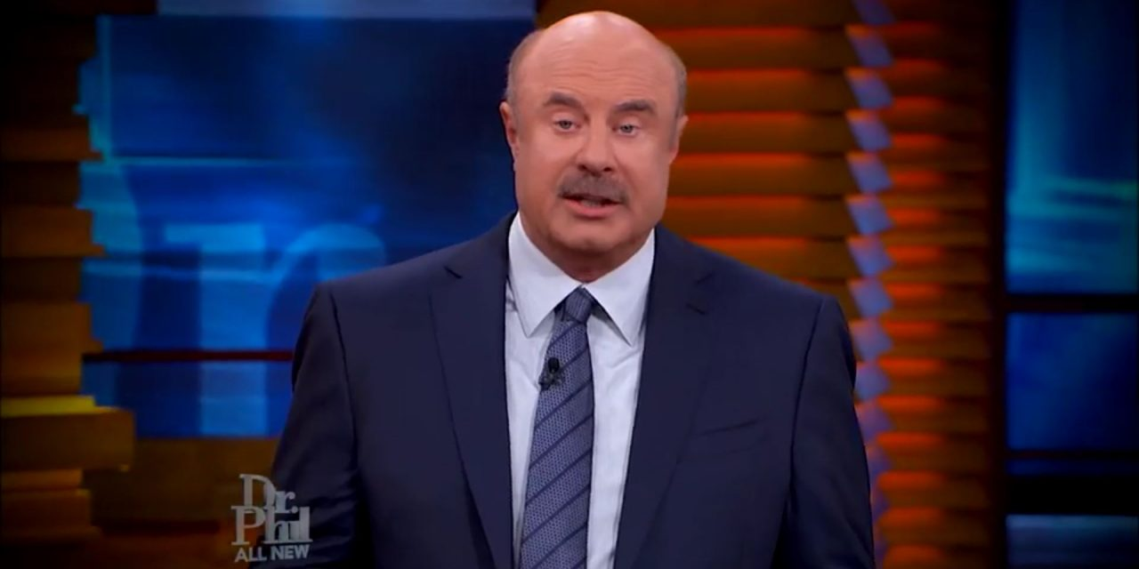 WATCH: Woman Claims Rich And Powerful Men Trafficked & Locked Her In A Cage On Dr. Phil