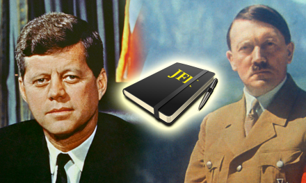 JFK Diary Shows He Questioned Whether Or Not Hitler Committed Suicide