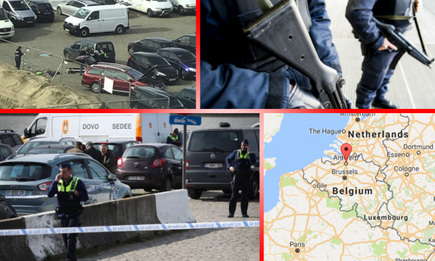 Terror Averted As Man Arrested After Trying to Run Over Pedestrians in Antwerp