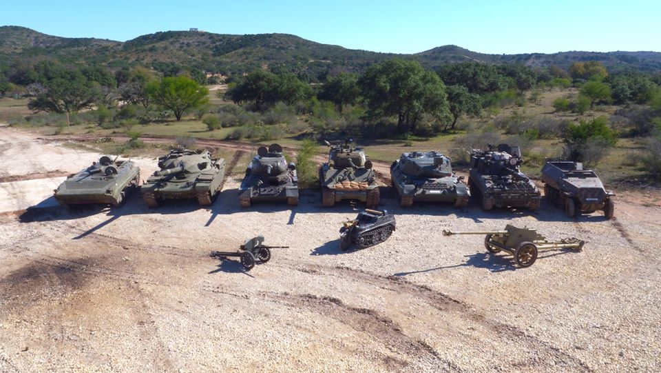 Ever Wanted To Drive And Shoot Real WWII Tanks? At Ox Ranch, You Can!