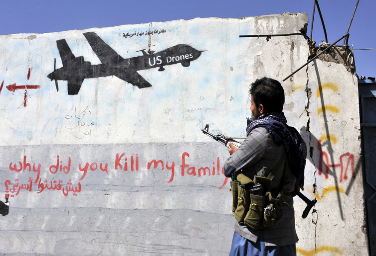 U.S. Drone Strikes Continue, Hitting Several Civilians In Yemen Sunday