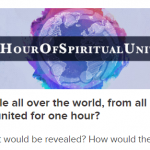 The Easiest Way To Change The World? #HourOfSpiritualUnity