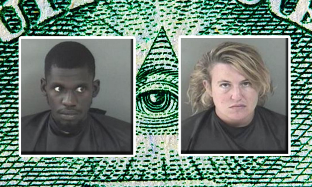 Florida Couple Absurdly Proclaims They Are Part of the Illuminati to Avoid Arrest
