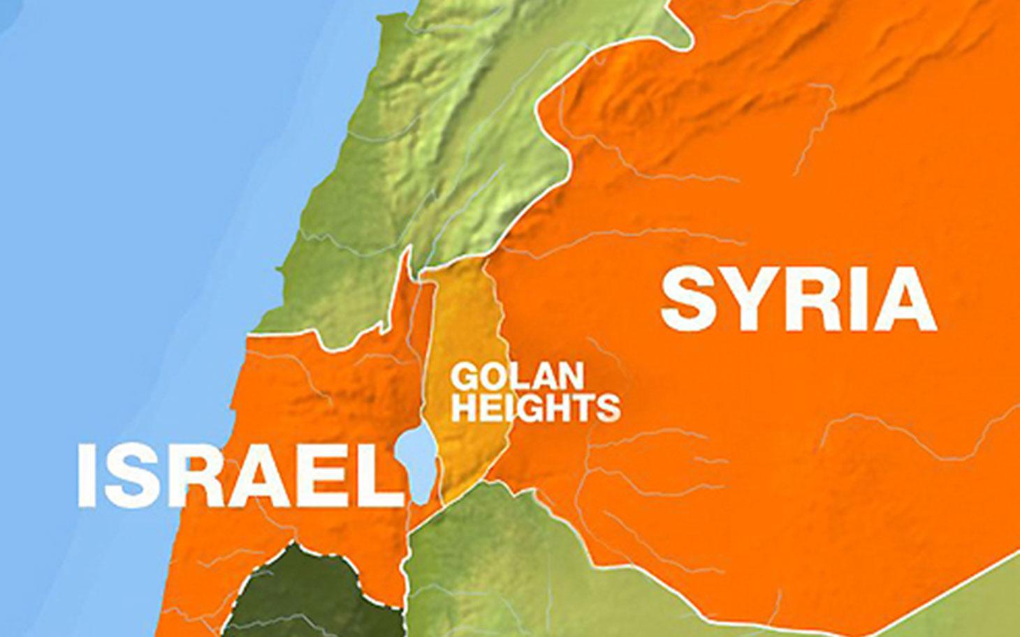 Rezultat slika za israel syria conflict