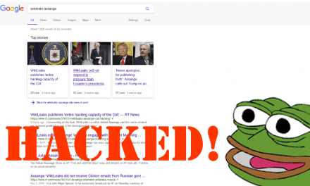 U.S. Senator Accuses RT Of Hacking Google, RT Tells Him To Learn How Search Engines Work