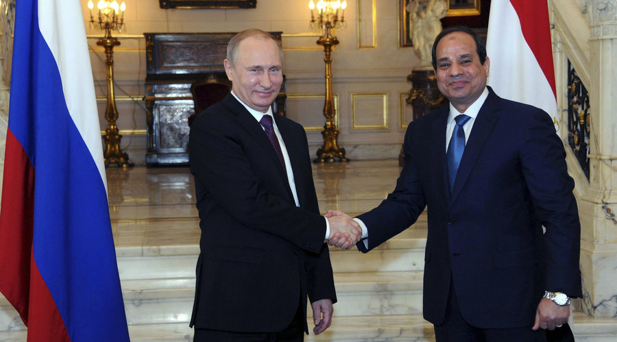 Russia Denies Having Special Forces In Egypt