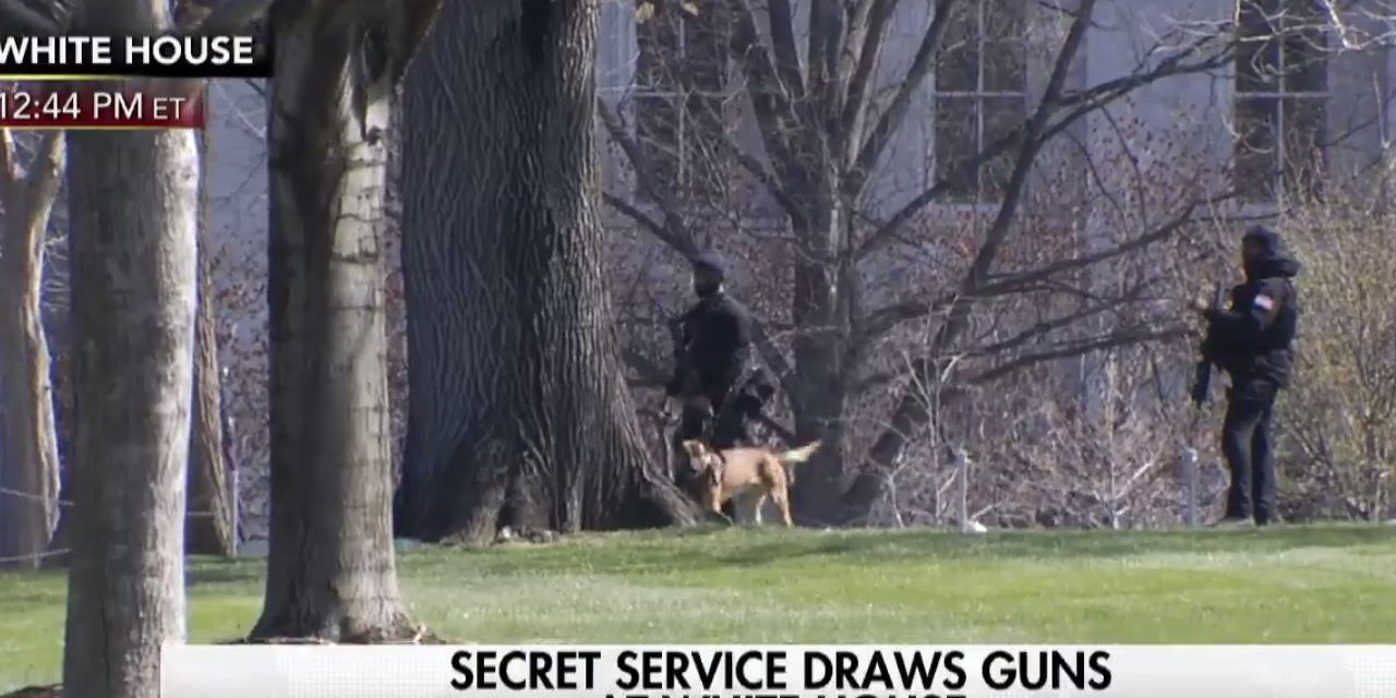 Secret Service Has Drawn Their Weapons At The White House