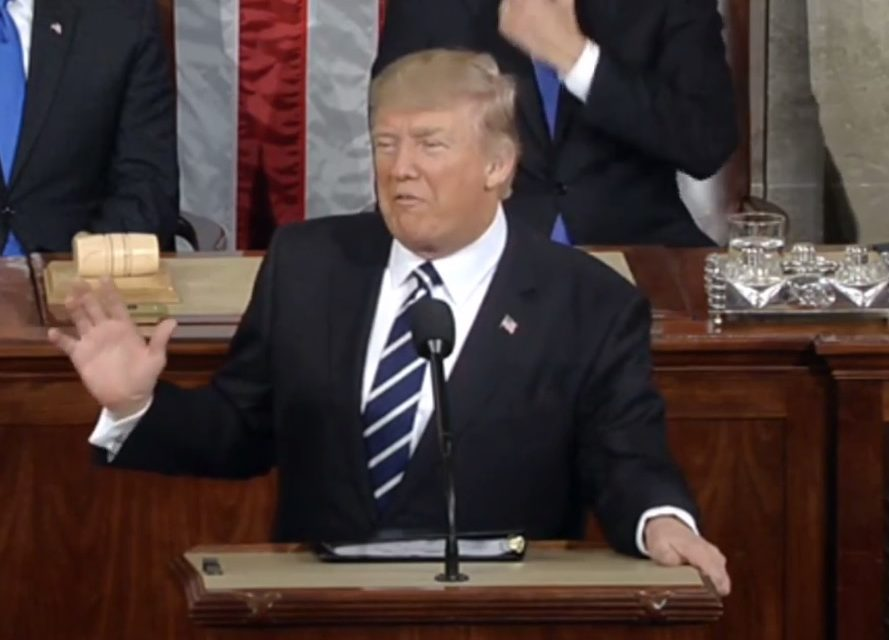 Trump Sends Mixed Messages on War in First Speech to Congress